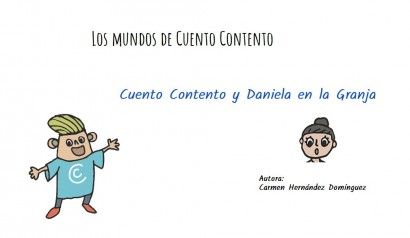 Cuento Contento y Daniela en la Granja. Cuento interactivo personalizable  Sumun.